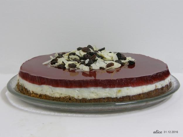 Cheesecake Glögijuustokakku